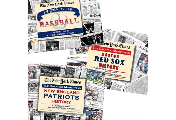 Gift Set: Red Sox, Patriots & Legends