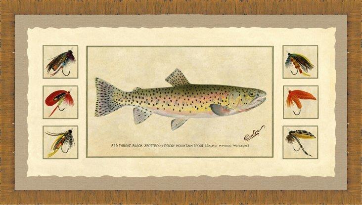 Trout Print II