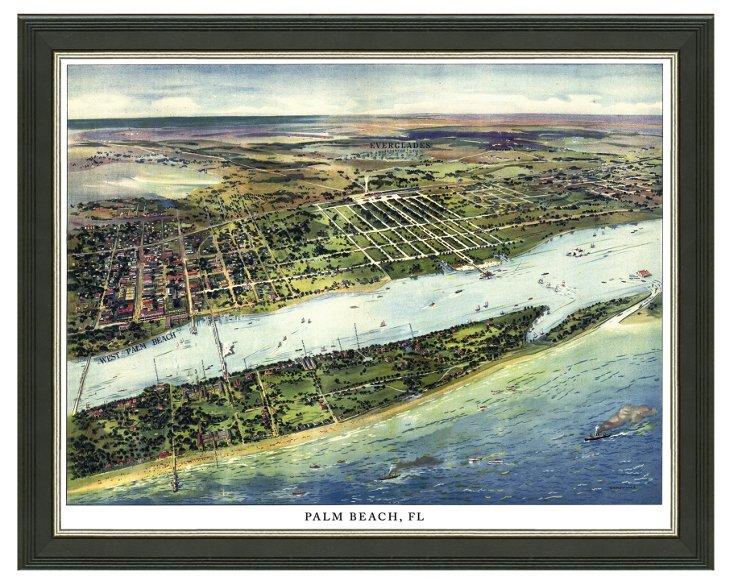 Palm Beach Cityscape