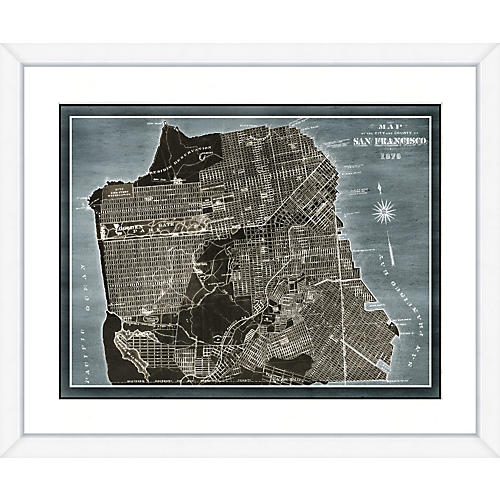 San Francisco Denim Map