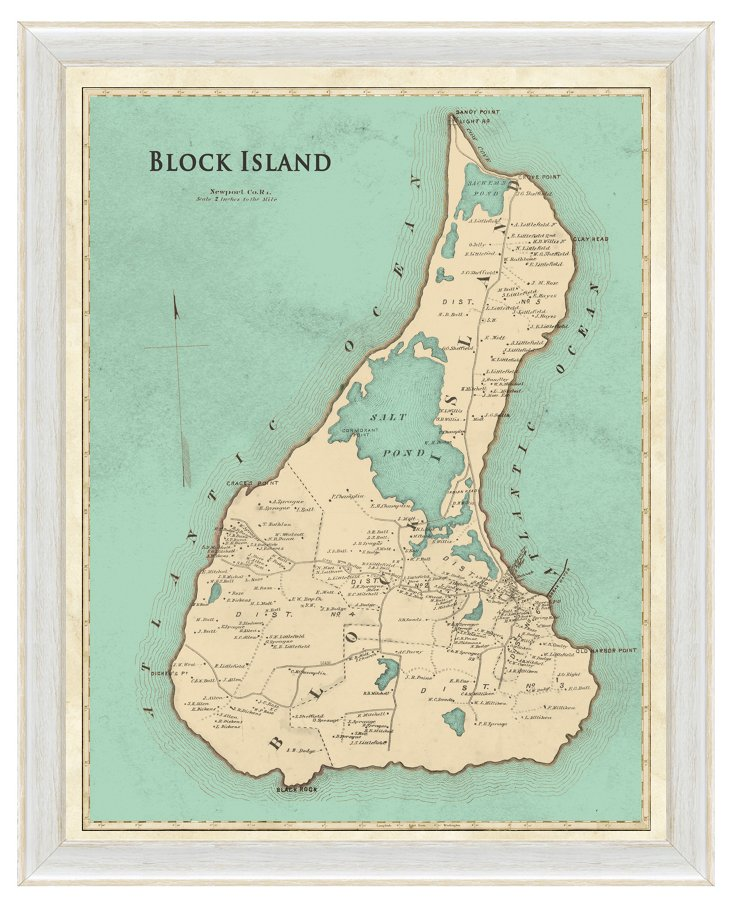Block Island Map