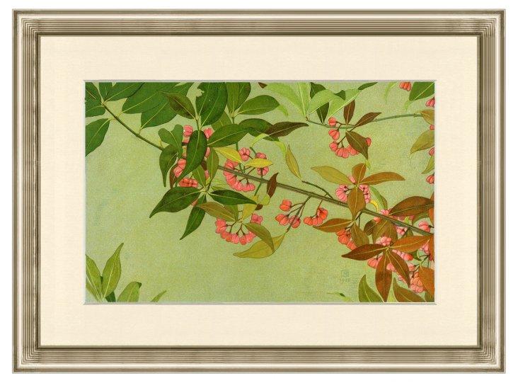 Abstract Botanical Print III