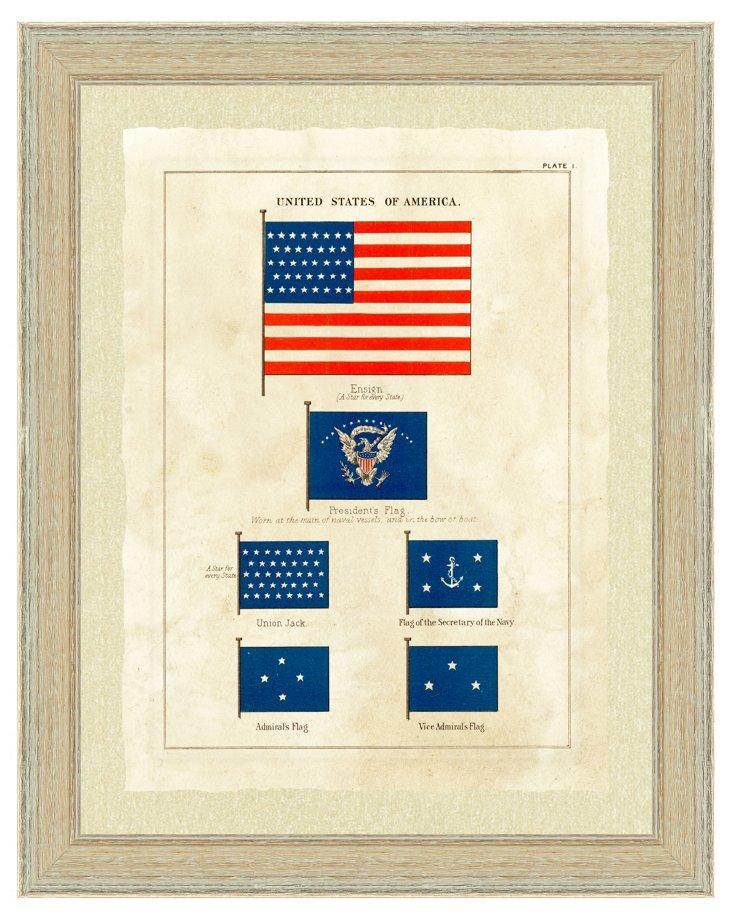 Nautical Flag Print I
