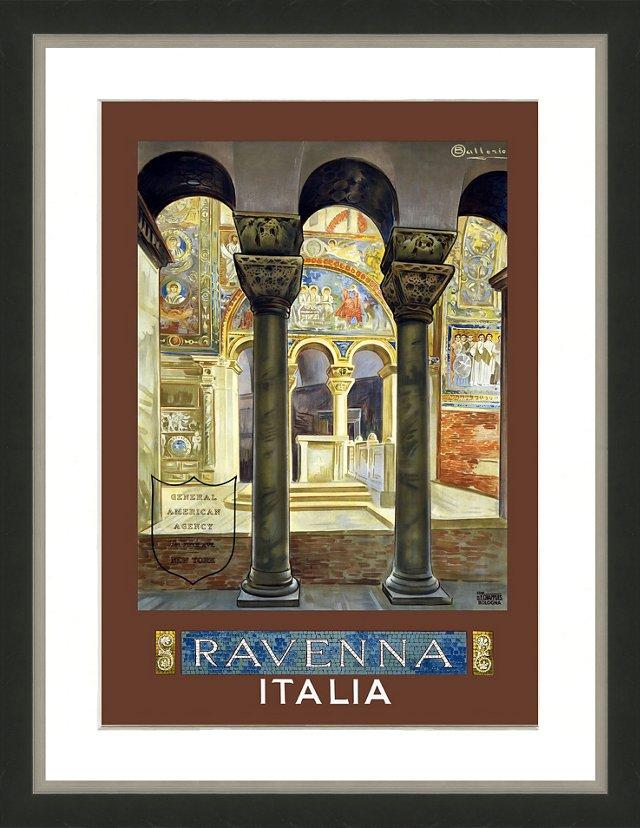 Ravenna, Italia Framed Travel Poster