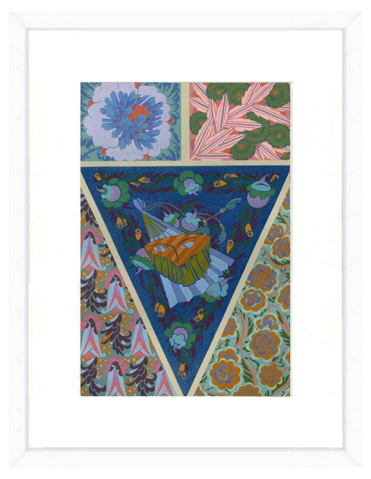 Abstract Pattern Print V