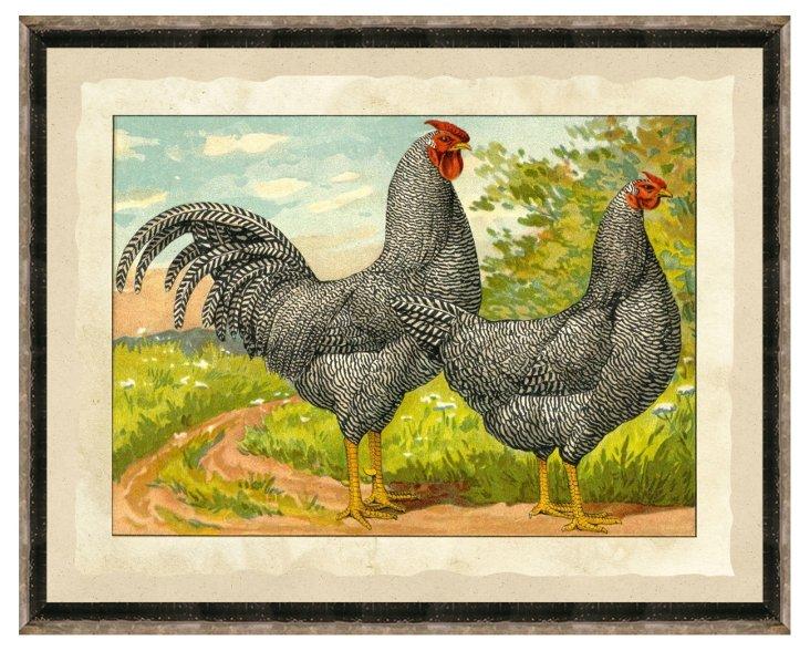 Double Chicken Print II