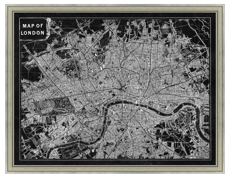 Inverted London Map