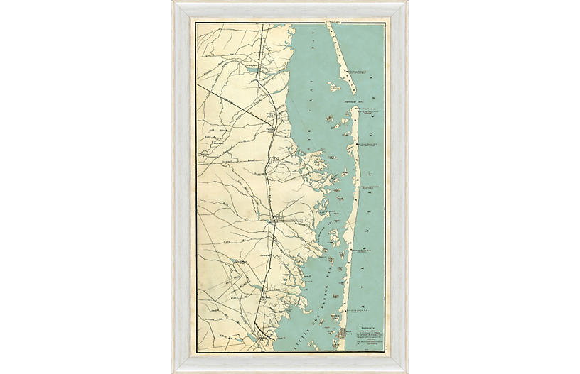 Map of Long Beach Island