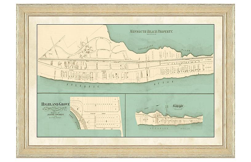 Monmouth Beach Map