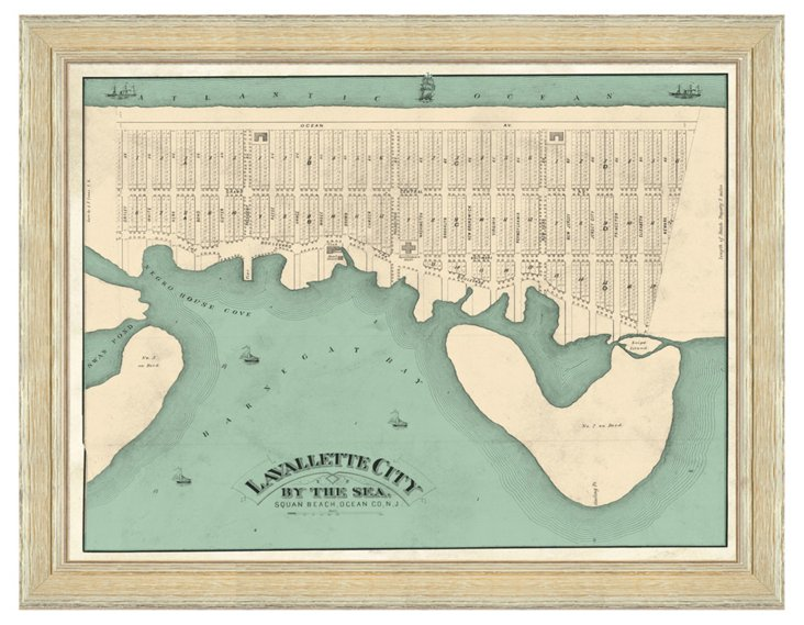 Map of Lavallette