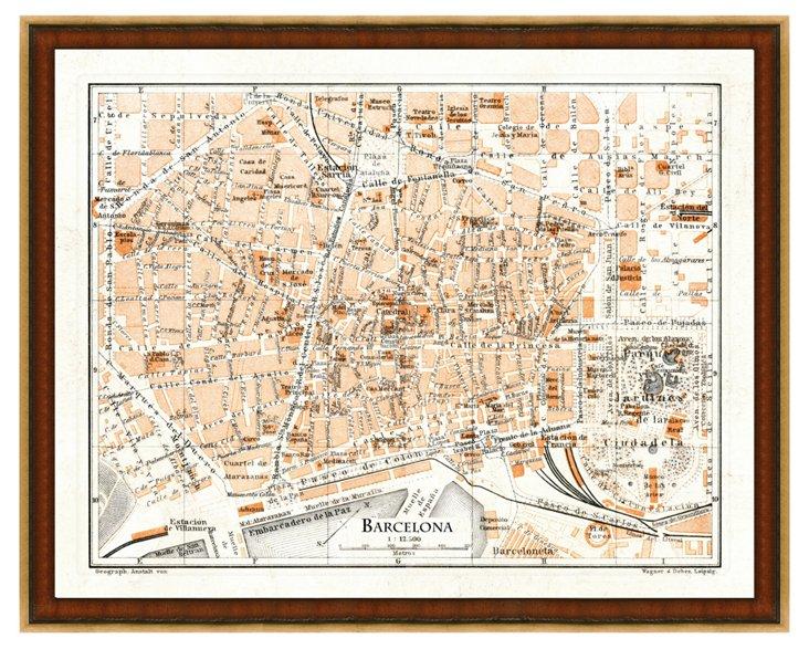 Map of Barcelona