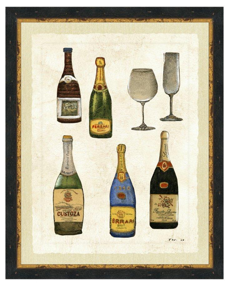 Wine Print III