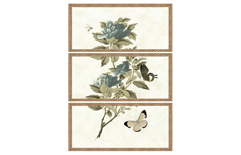 Winterthur Botanical Triptych I