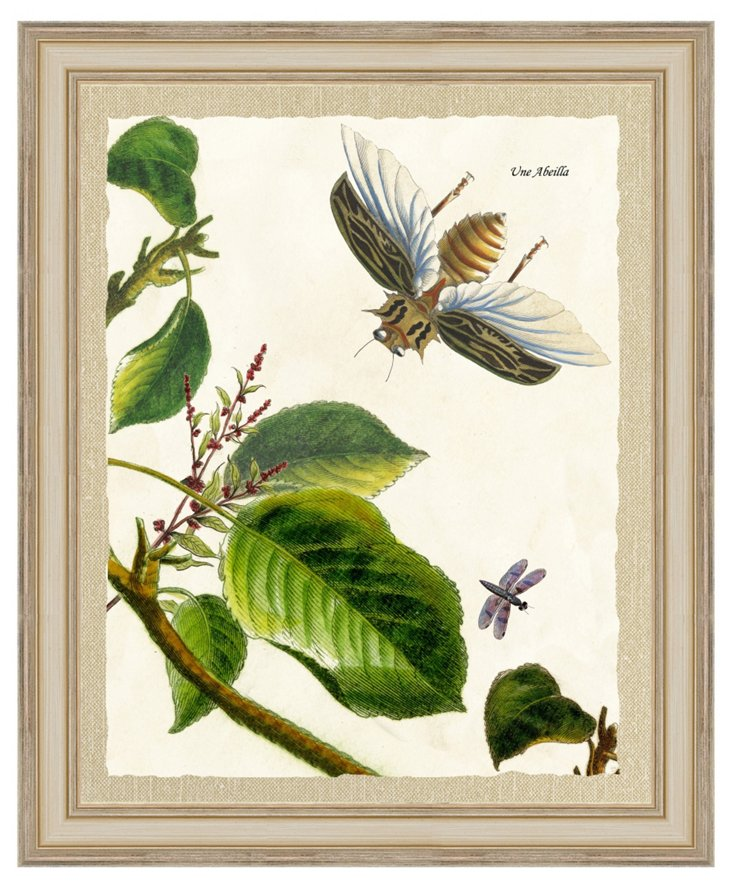 Garden Scene Print III