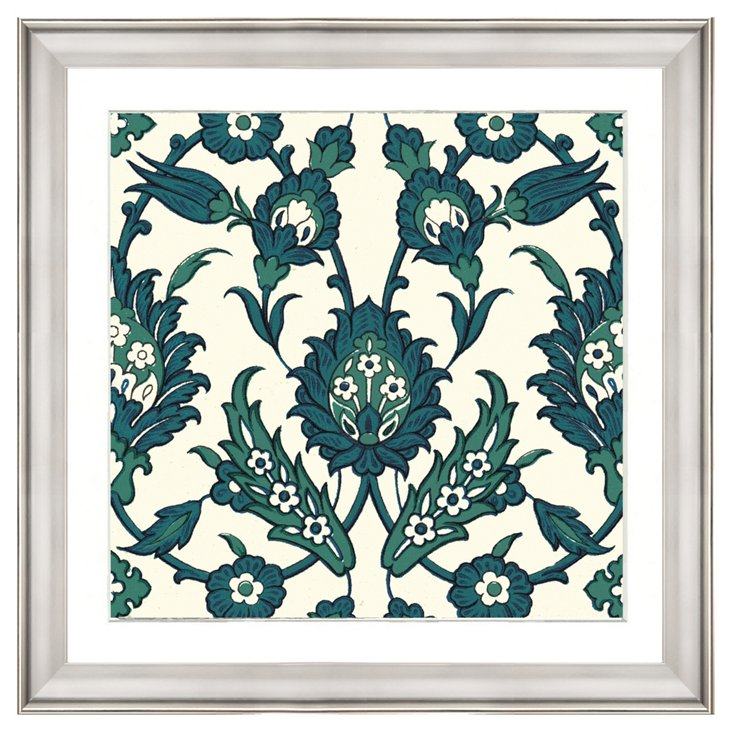 Persian Teal Pattern I