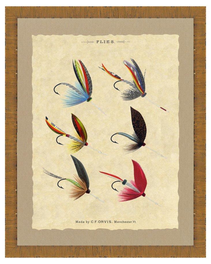 Fishing Fly Print I