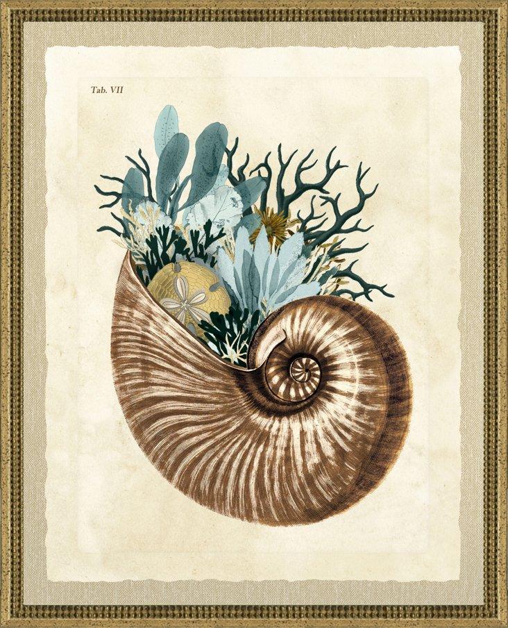 Green Jelly Fish Print II