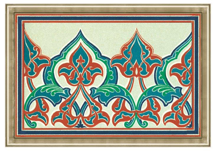 Graphic Persian Panel III