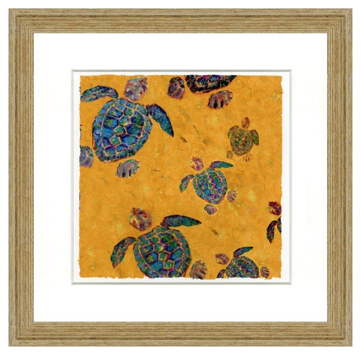 Colorful Turtle Print III