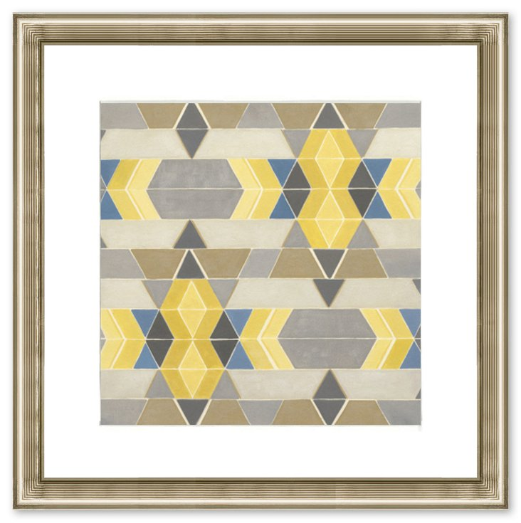 Triangle Pattern Print I