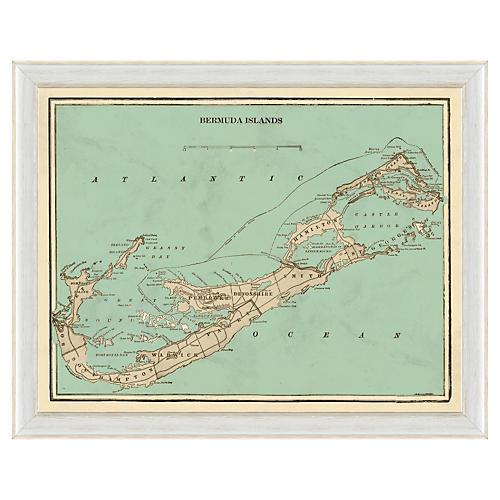 Bermuda Islands Map