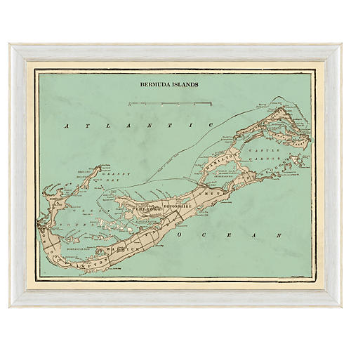 Bermuda Islands Map