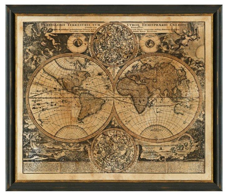 Heritage World Map