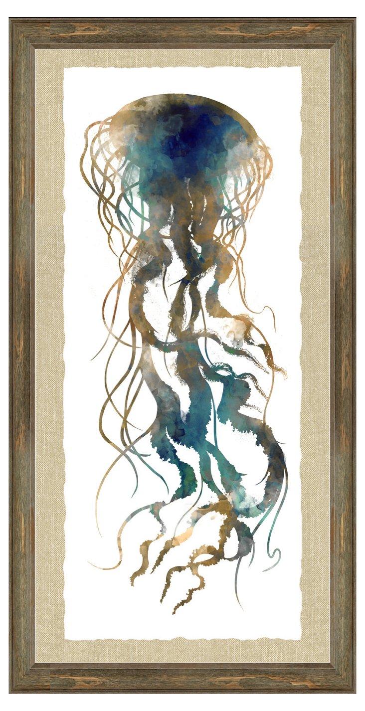 Watercolor Jellyfish I
