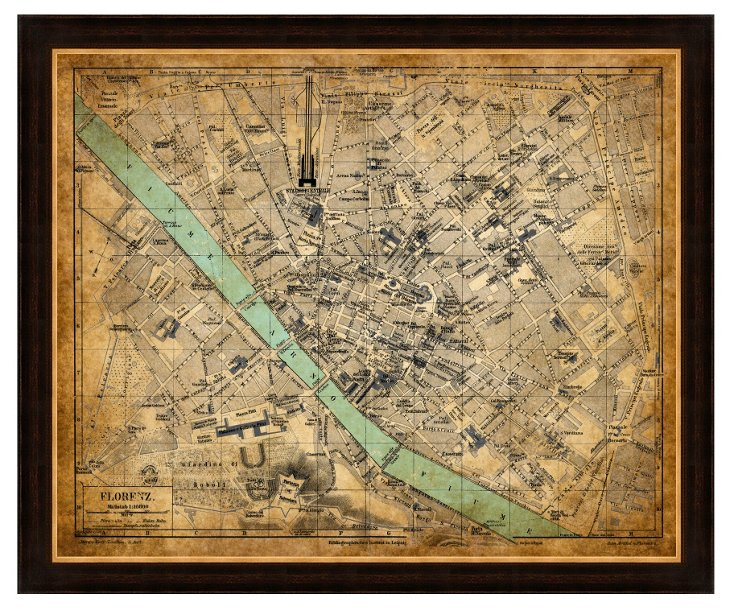 Florence Heritage Map