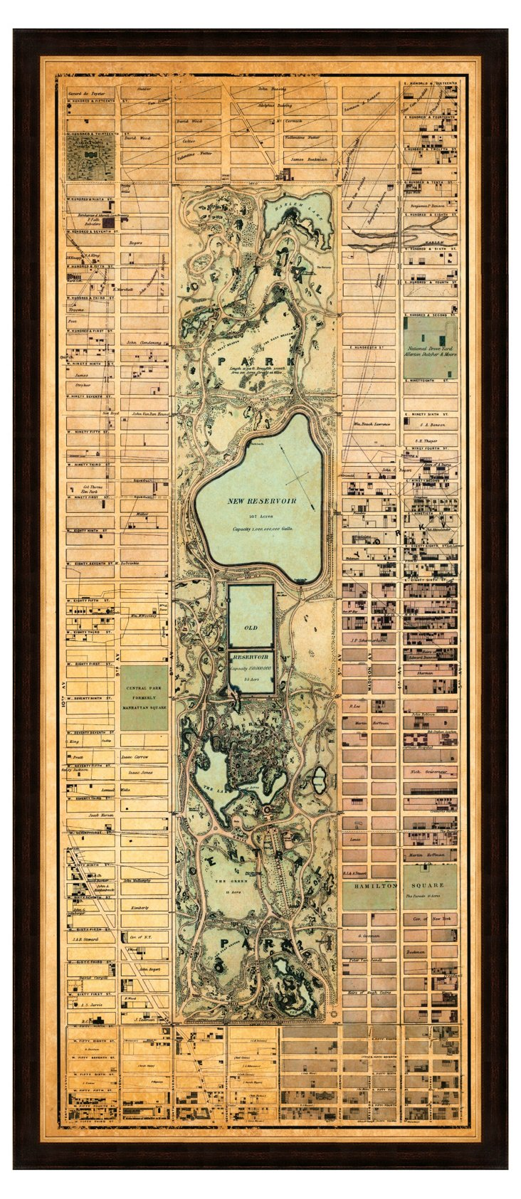 Map of Central Park