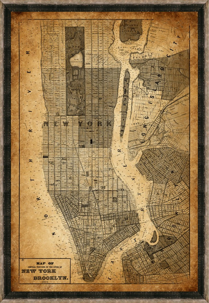 Heritage New York Map