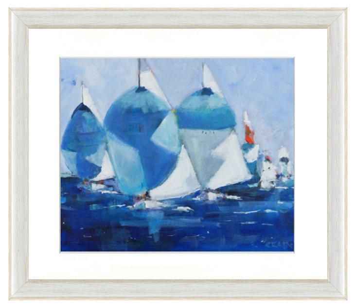 Sailing Boat Print I