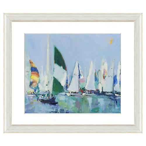 Sailing Boat Print III