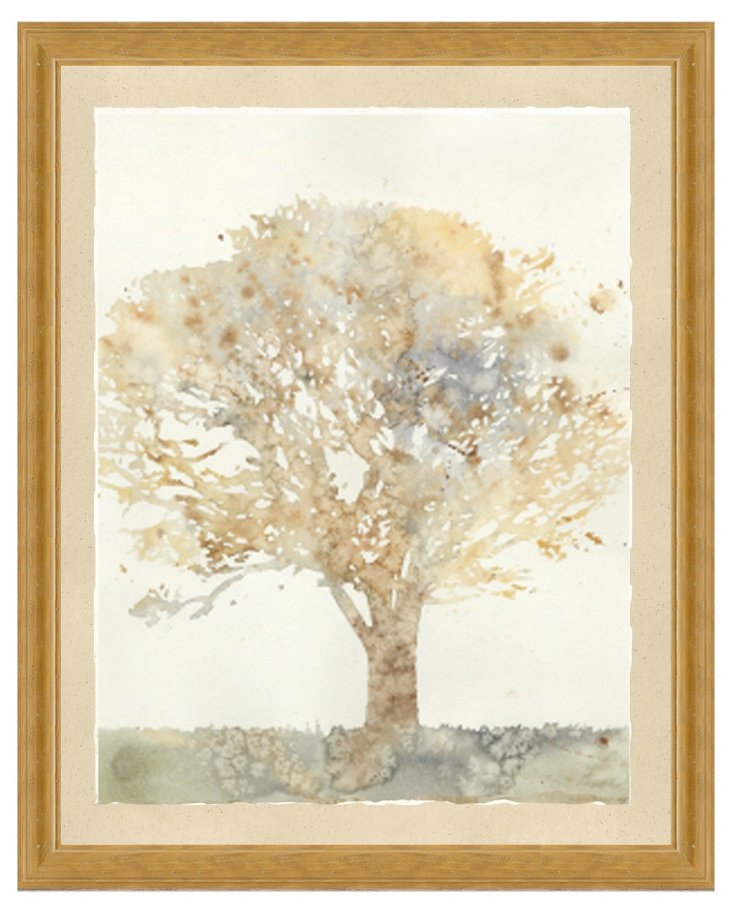 Watercolor Tree Print II