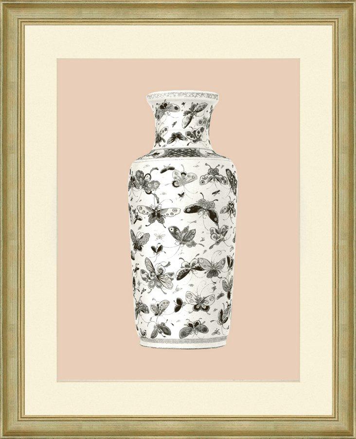Blush Vase Print II