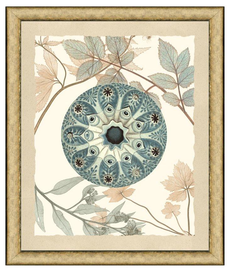 Nature Medallion Print I