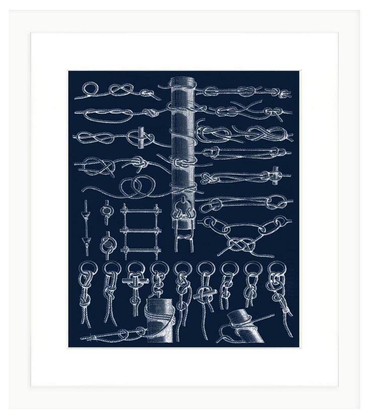Boat Knot Print II