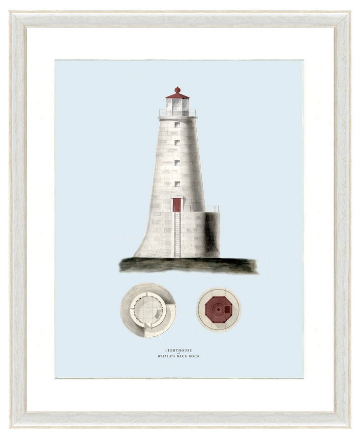 Lighthouse Print II
