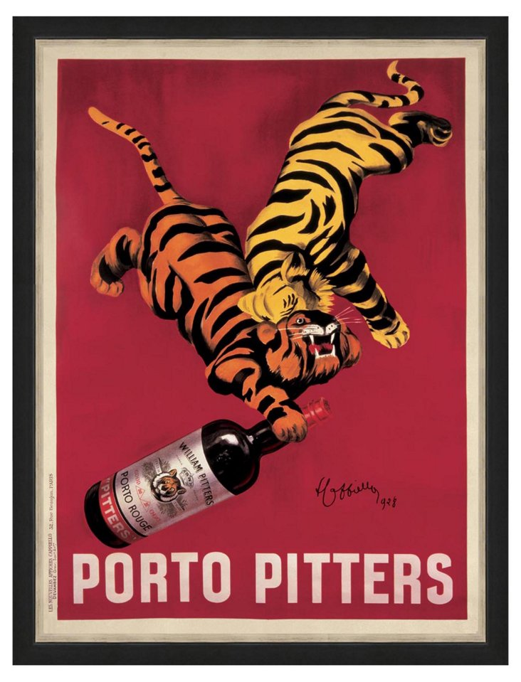 Porto Pitters Advertising Poster