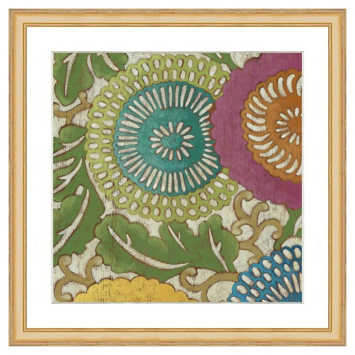 Paisley Print I