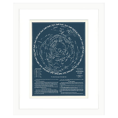 Northern Stars Constellation Print