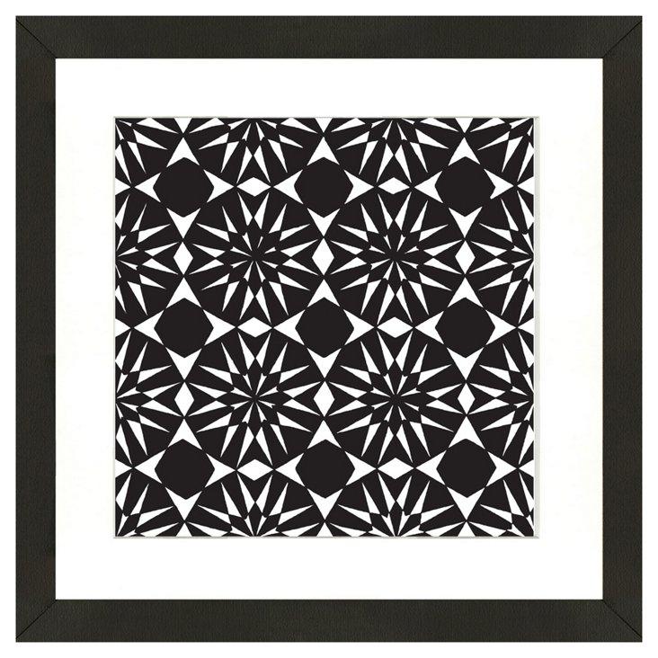 Black and White Geometric II