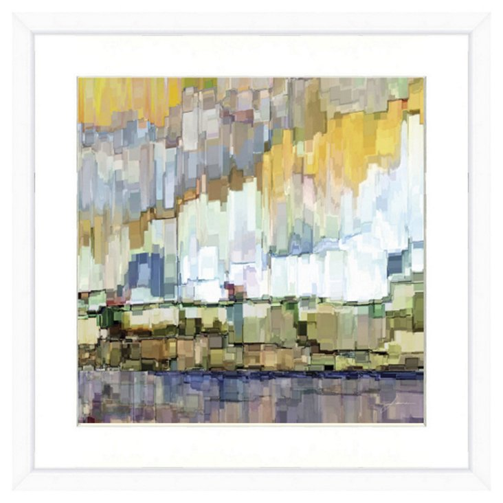 Abstract Landscape Print I