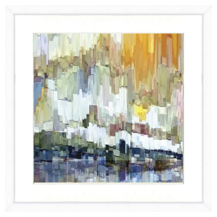 Abstract Landscape Print II