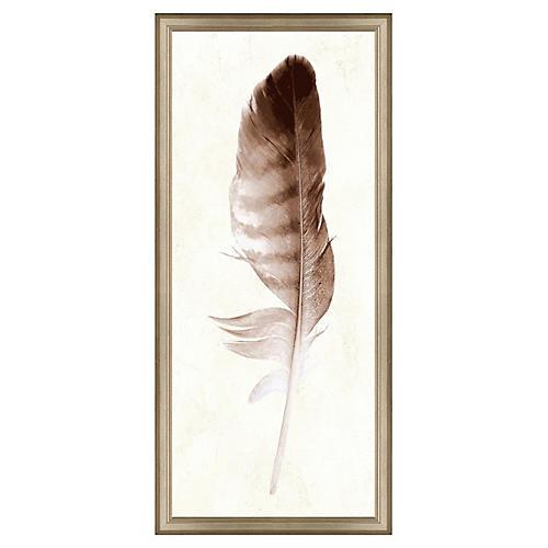 Neutral Feather Panel II