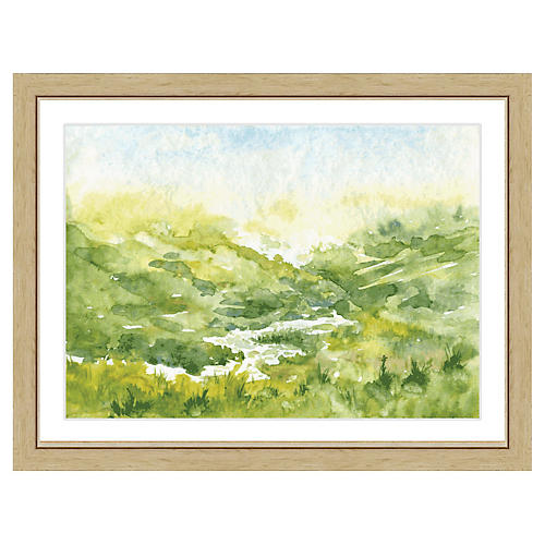 Watercolor Landscape Print I