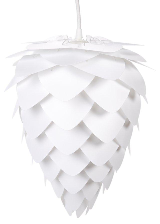 Conia Plug-In Pendant, White