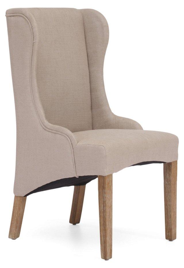DNU, O-Black/Gold Helix Chair,