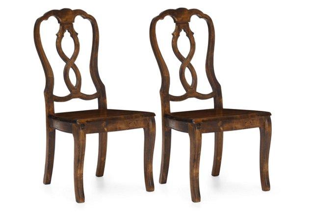 Campbell Chair, Pair