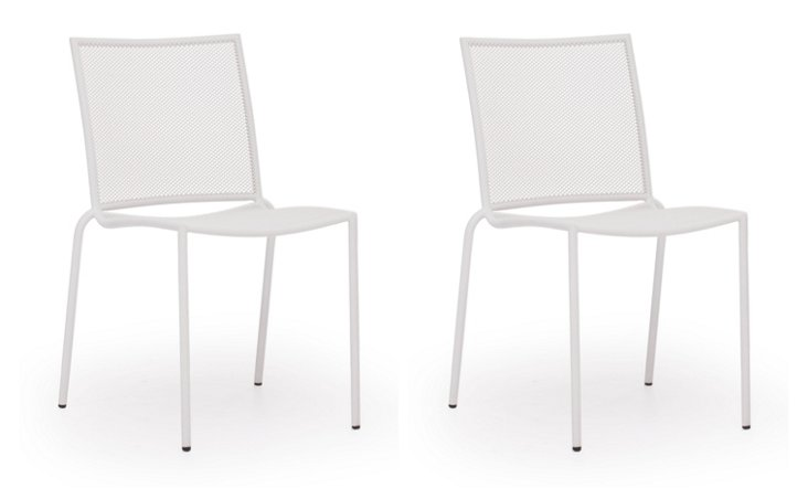 White Repulse Bay Chair, Set of 4
